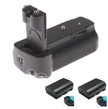 Battery grip BG-E6 pour Canon EOS 5D Mark II 2 DSLR Caméra + 2x LP-E6 Batterie