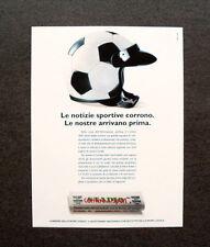 [GCG] L260- Advertising Pubblicità -1997- CORRIERE DELLO SPORT STADIO