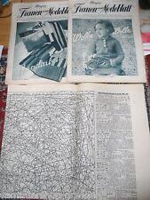 11946 Schnittmusterbogen 1936 Meyers Frauen und Modenblatt 35+36 kompl pattern