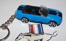 CUSTOM MADE..2007 MUSTANG SHELBY GT500 CON.(GRABBER)... KEYCHAIN..GREAT GIFT!