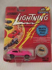 Johnny Lightning  Series B -  Custom XKE   Pink   NOC  1:64 Scale  (517) 103
