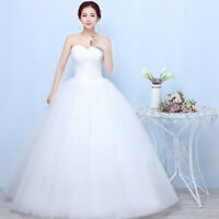 Wedding Dress White Strapless Off-Shoulder Ruched Bust Maxi Dress Evening Dress