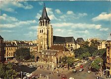 BT4129 Carrefour et Eglise saint germain des Pres paris France