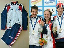 Adidas British Triathlon Team Elite UK tracksuit pants jacket GB Great Britain