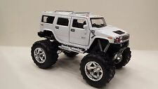 2008 Hummer H2 SUV (off Road) white kinsmart TOY model 1/40 scale diecast Car