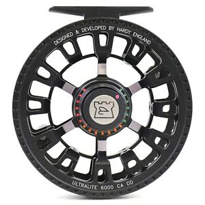 Hardy Ultralite CA DD 6000 Reel Black - BACKING AND FLY LINE OFFERS - ON SALE!