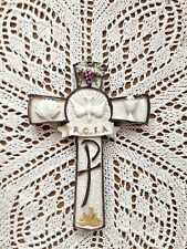 """RCIA WALL CROSS"" 6-3/4"" H, VERY SYMBOLIC!   NEW"