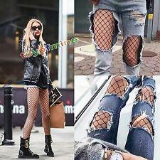2017 Nuevos leggings para mujer Negro Fishnet Malla thights Medias S M L