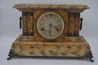 Waterbury Clock Co Delmonte Mantel Clock w/ Handles