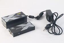 Adder X2-DA-Silver Adderlink x2 Silver Local and Remote W/ Power Adapter/Cord
