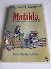Matilda -Roald Dahl - 1989 Puffin 1st/1st Edition 18TH RUN PAPERBACK IN COVER