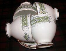 Vintage Marlborough Olympia Pattern Set of 4 Cups & Saucers