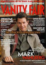 Vanity Fair 8/01,Mark Wahlberg,August 2001,NEW