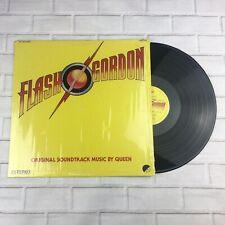 """Queen - Flash Gordon 12"""" Vinyl Album (Mexico) + Inner & Insert - 1981 - Rare"""