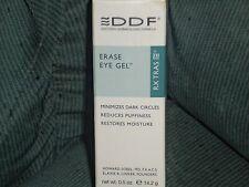 DDF Erase Eye Gel .5 Oz Minimizes Dark Circles & More Factory Sealed