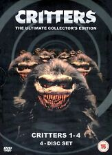 CRITTERS QUADRILOGY 1-4 PART 1 2 3 4COLLECTION ALL MOVIE FILMS NEW REGION 2 DVD