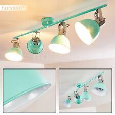 Plafonnier Retro Lampe à suspension verte Éclairage de couloir Lustre en métal
