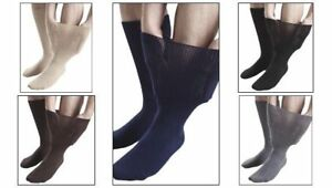 IOMI Footnurse - Uomo Donna Edema Extra Largo Calzini Calze 4 Formati e 5 Colori