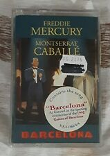 New Queen Freddie Mercury Montserrat Caballe Barcelona Cassette #1