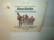 THE SOUND OF MUSIC BROADWAY CAST - MARY MARTIN 1960 Vinyl Lp Mono Excellent