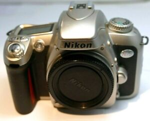 Nikon N75 35mm SLR Film Camera Body only ( with issues manual focus mode only)