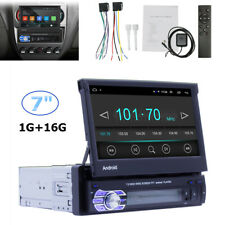 Single-Din Bluetooth Car Stereo Player with 7