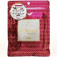 LuLuLun Anti Ageing Face Mask Precious Red 7 sheets with Rice Ceramide Trehalose