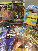 A to Z Mysteries Series Lot of 10 *Random Mix* by Ron Roy Paperback Scholastic