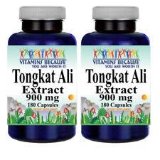 Tongkat Ali Extract 900mg 2X180 Capsules Eurycoma Longifolia Root Extract 100:1