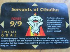1x Illuminati New World Order CCG INWO Single Card Servants of Cthulhu