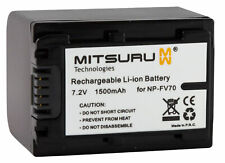 Mitsuru® Battery for Sony Camcorder HDR-CX106E HDR-CX110E HDR-CX115E HDR-CX116E