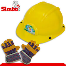 Simba-Set : Kinder-Bauhelm + Kinder-Arbeitshandschuhe