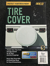 """Adco 1737 Black Spare Tire Cover Size J for 27"""" Diameter Tires"""