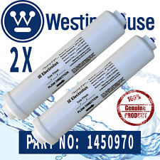 2 x  Genuiune  Westinghouse 1450970 Fridge WATER FILTER 258MM LONG