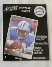 1994 Action Packed Monday Night Football Promo Barry Sanders Detroit Lions #3