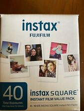 New listing instax fujufilm square value pack 40