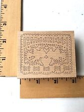 Pink Ink Rubber Stamp Co.- Happiness Paper Cut - NEW
