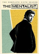 THE MENTALIST Stagione 6 BOX 5 DVD in Lingua Inglese NEW .cp