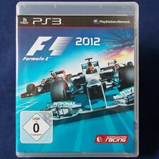 PS3 - Playstation ► Formula Eins 2012 - F1 ◄ TOP Zustand | Erstausgabe