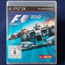 PS3 - Playstation ► Formula Eins 2012 - F1 ◄ TOP Zustand | Erstausgabe