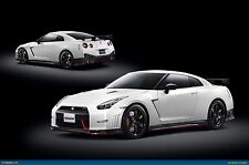 """Nissan-GT-R-Nismo 30""""x20"""" Canvas Wall Art Picture Print Framed"""