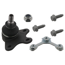 Ball Joint Inc Additional Parts Fits Volkswagen Crossfox Crosspolo Fo Febi 19410