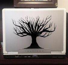 "Tree, dead, nature, decal sticker car truck laptop macbook window 6"" black"