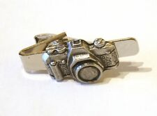 Camera tie slide Tie clip Mens wear Artists Photography Photos gift