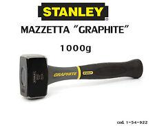 MAZZETTA MURATORE MAZZUOLA 1000 g MANICO GRAFITE INDEFORMABILE STANLEY 1-54-922