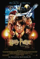 Harry Potter poster Sorceror's Stone movie poster (B) Daniel Radcliffe poster