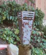 101 EDELROST Fackel Skulptur Feuer Rost Gartendeko Stele Edel Kunst Dekoration