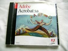 Adobe Acrobat 5.0 5 Upgrade Software CD Disc