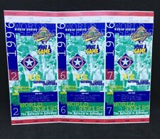 Complete 1996 Texas Rangers World Series and Playoff Tickets