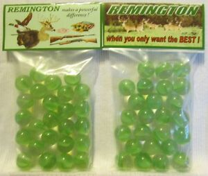 2 Bags Of Remington Rifles Promo Marbles